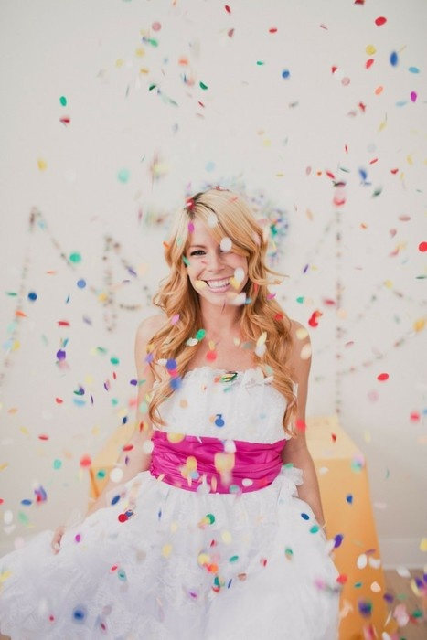 yup...I think I found the one. - Big colorful confetti might be giving sparklers the boot.
