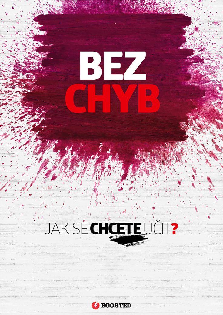 Motivační plakát Bez chyb (Česky)