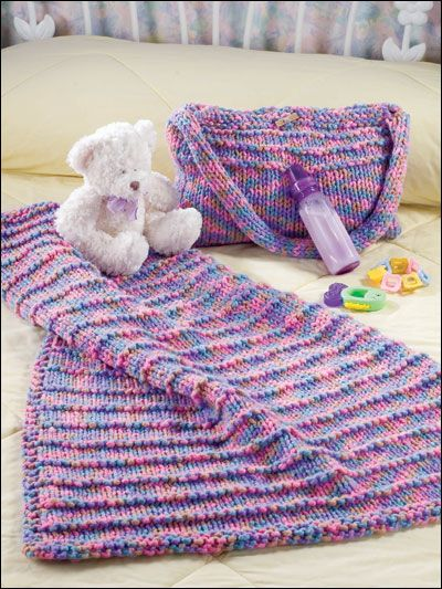 6 Loom Knitting Baby Blanket Patterns The Funky Stitch