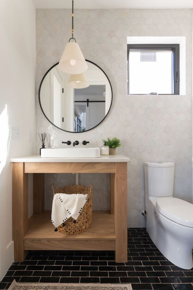 Black And White Tile Trends With Zia Tile Becki Owens In 2021 Tile Trends Bathroom Design Trends Home Decor