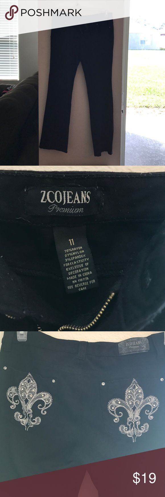 Zco jeans Juniors size 11. Zco jeans. No rips, tares, or stains. Worn a handful of times, lost weight don't fit. ZCO Jeans Flare & Wide Leg