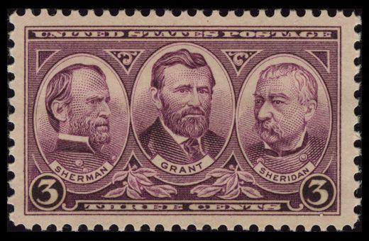http://brianlokker.hubpages.com/hub/us-army-commemorative-stamps-1936-1937-sherman-grant-sheridan