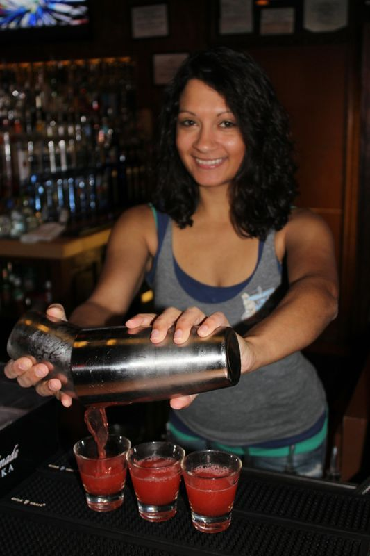TGIF! Swing by for Happy Hour at The Hangar Tavern & let Amanda serve ya a refreshing $5.50 moscow mule, $4.50 Rumchata & Fireball or $5 Jack!