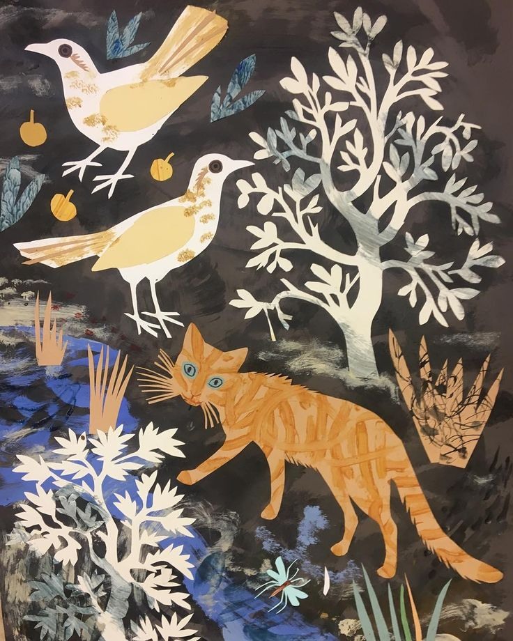 New work by Mark Hearld for the redisplay of the British Folk Art Collection at Compton Verney. Hearld is both curating the redisplay and producing new works in response to the collection, which opens to the public on 18 March 2018.
