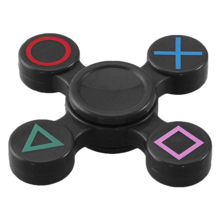PlayStation EDC Game Fidget Spinner PS4 Xbox Toy