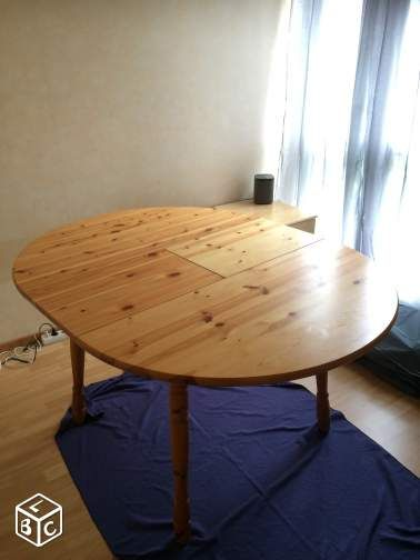 1000 ideas about table ronde avec rallonge on pinterest round tables tabl - Tables rondes avec rallonges ikea ...