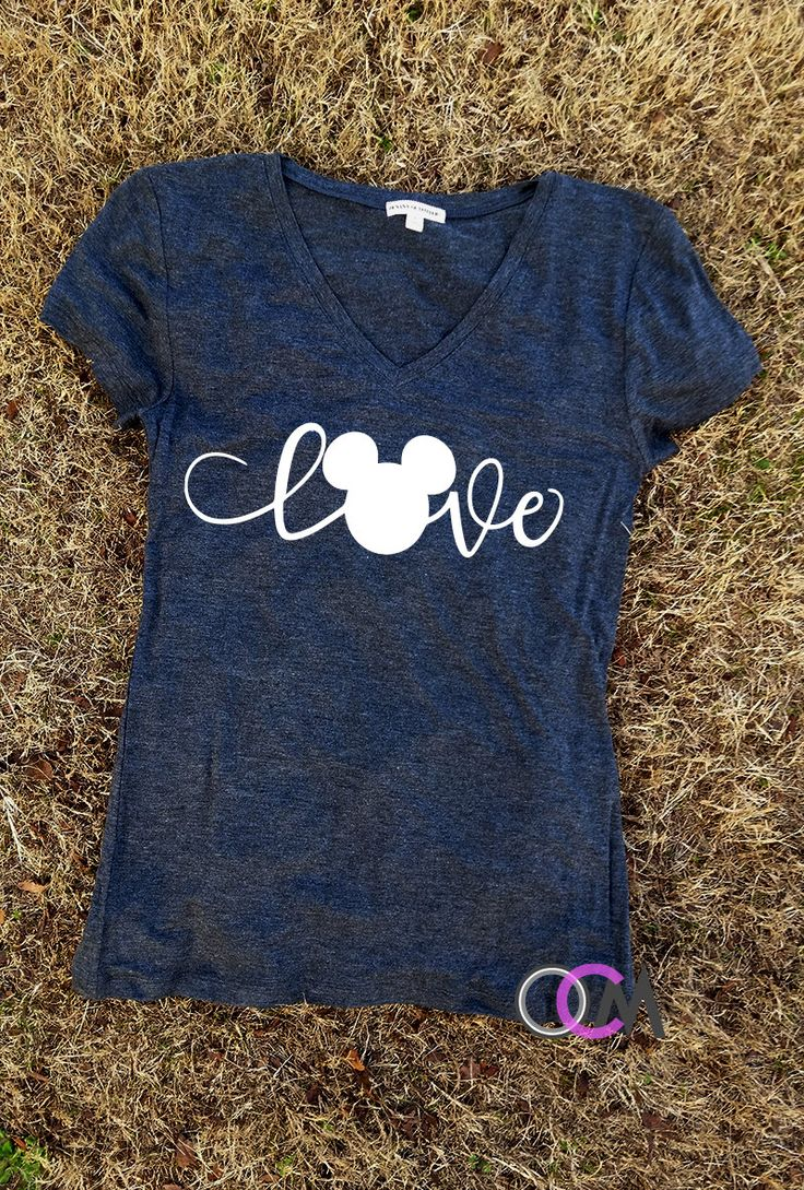 Perfect Shirt for The Disney Lovers!! So Simple and So cute! For family shirt pricing please contact me. We have prices for Multiple Shirts. These come on a Ladies cut V-Neck. If you would like a unisex Fit t-shirt please be sure to add that in the NOTES TO SELLER section when purchasing. ***Please look at the color chart the shirt color you pick will come with the color wording that is on each Mickey Head on Color chart. If you would like to choose a different color please be sure to add…