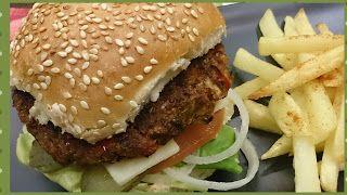 Supreme Bean Burger chosen for me by the Universe!... www.ycccookinsogood.blogspot.com by:Awaken your Inner Gourmet Goddess...