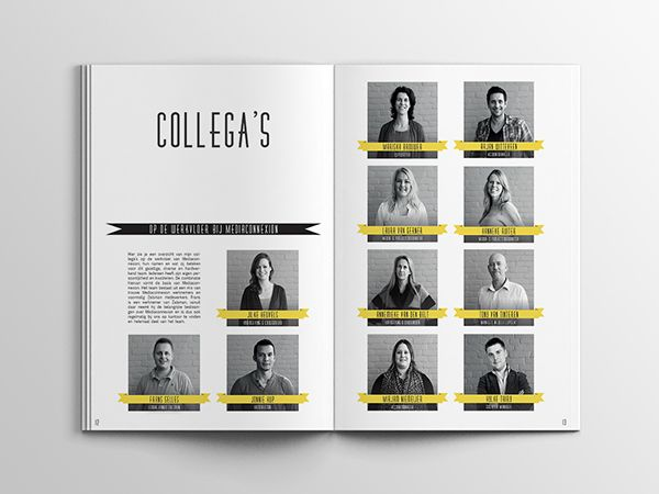 Mediaconnexion - Internship report on Behance