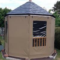 Gazebo Side Panels & Gazebo Curtains - Protective Textile Co Ltd