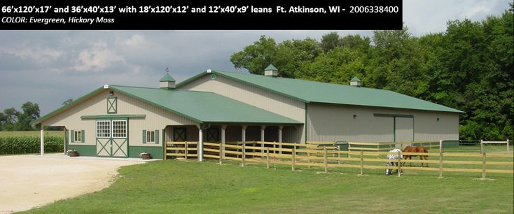 Horse Barns & Arena - Cleary Building Corp.