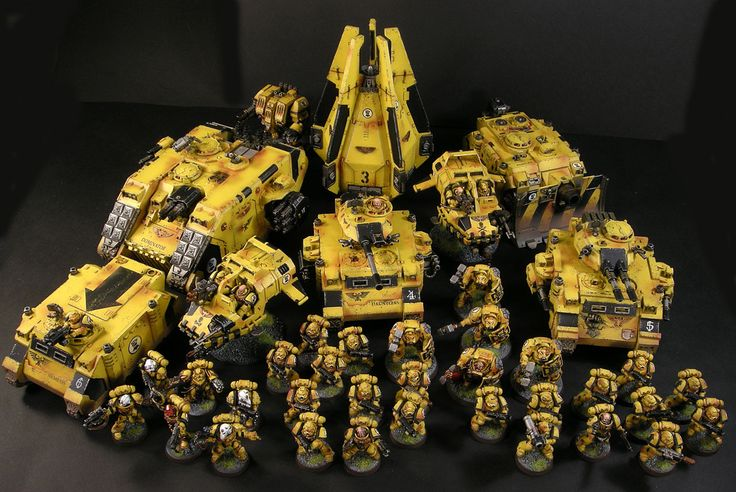 Imperial fists army imperial fist warhammer 40000 warhammer 40k - Imperial fists 40k ...