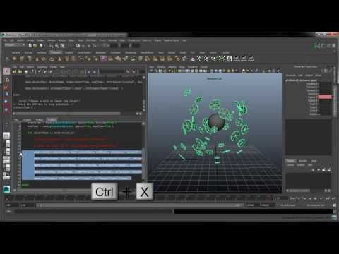 In this movie, we cover the basics of MEL in Maya LT. We also show how to create a shelf script which can help you create instances of an objects on a set of...