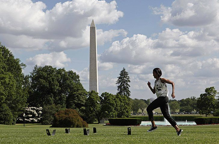 Michelle Obama's Let's Move! campaign - in pictures