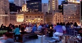 enjoy the best outdoor rooftop bars in chicago this summer, try one of chicago's best rooftop bars this summer