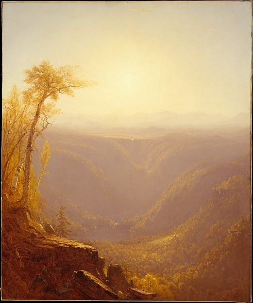 Sanford Robinson Gifford (1823–1880). A Gorge in the Mountains (Kauterskill Clove), 1862. The Metropolitan Museum of Art, New York. Bequest of Maria DeWitt Jesup, from the collection of her husband, Morris K. Jesup, 1914 (15.30.62)