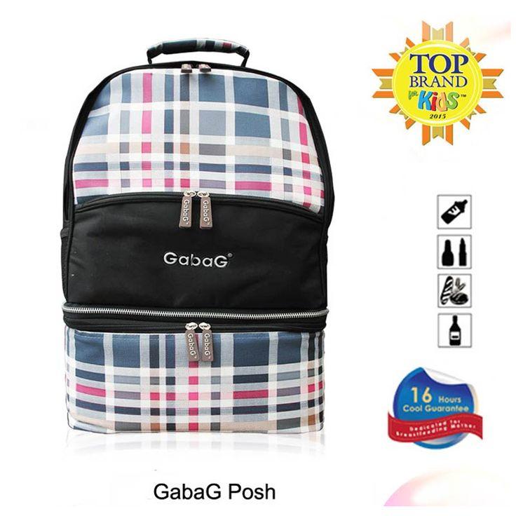 Gabag Cooler Bag Backpack Posh 2 in 1 - http://www.adorababyshop.co/jual/cooler-bag-gabag-backpack-posh-2-in-1/
