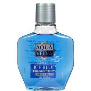 Aqua Velva Cooling After Shave Classic Ice Blue 3 5 Oz | eBay