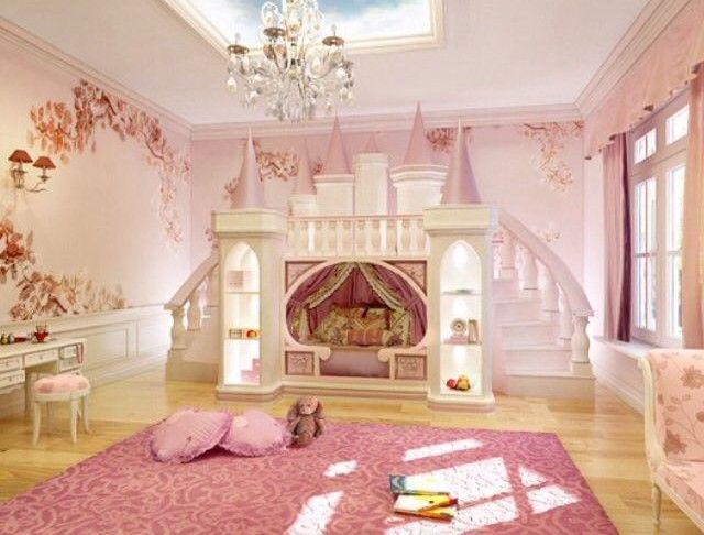 29 Adorable Toddler Girl Bedroom Ideas On A Budget Cute Princess Theme Bedroom Kids Room Design Kids Princess Bed