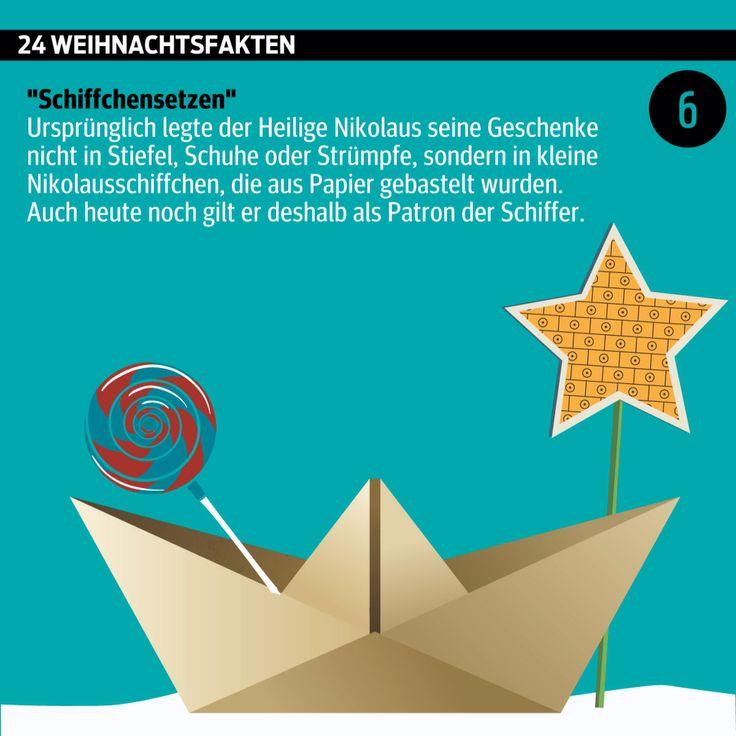 """""""Lasst uns froh und munter sein...""""  #Advent, Advent: #Türchen Nummer 6.  ______________________ #Adventkalender #Nikolo #Nikolaus #Weihnachten #WusstenSieDass #xmas #Daten #Grafik #kurier _______________________ kurier.at/weihnachten"""