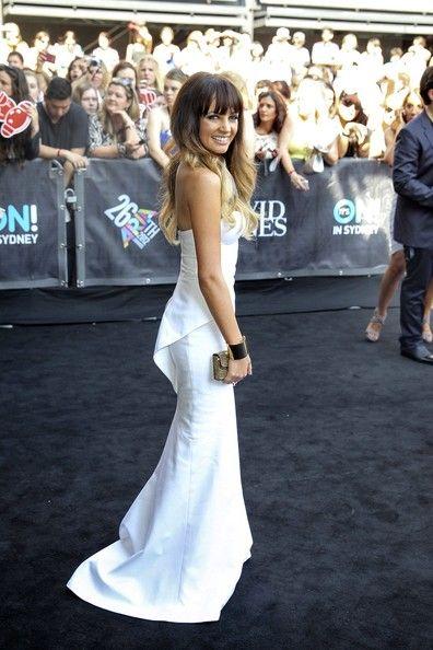 Samantha Jade - Celebs at the ARIA Awards