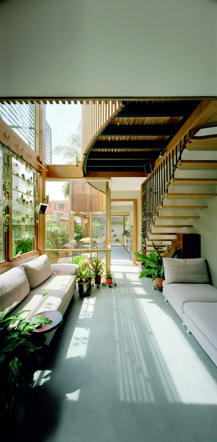 Urban Green House Creates a Sunny, Healthy, Happy, Inner-City Home