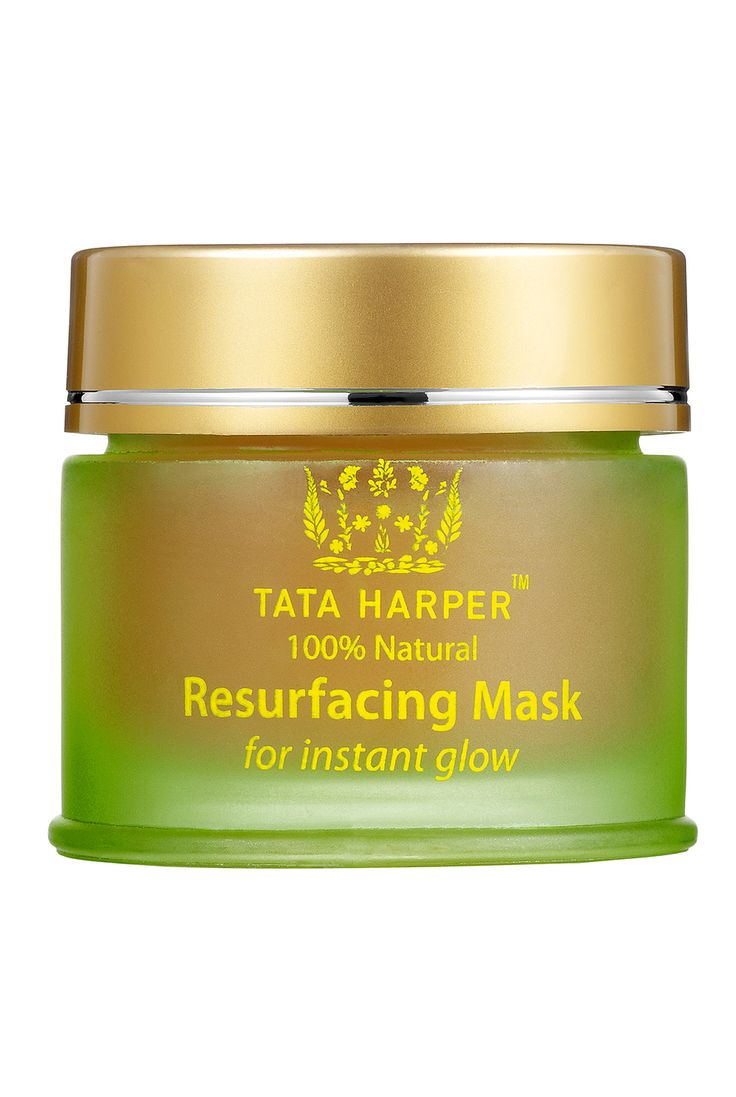 Tata Harper Resurfacing Mask, $55; sephora.com Made with exfoliating papaya enzymes and detoxifying clay, this resurfacing mask works to reveal glowing skin.   - ELLE.com