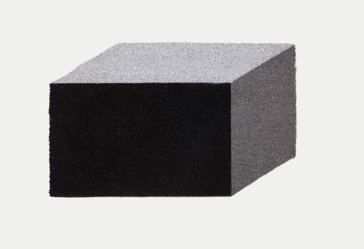 Cuboid rug by Established & Sons.