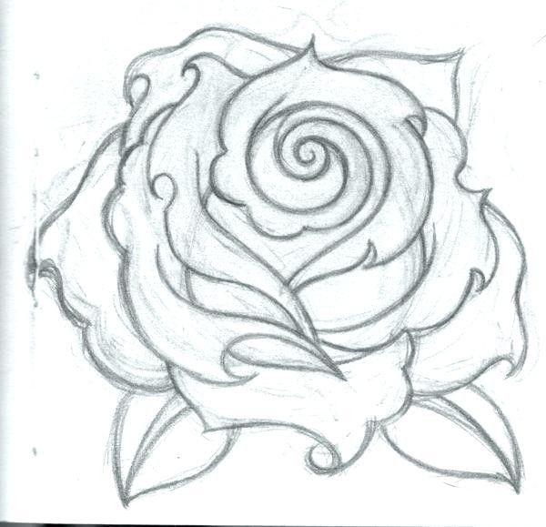 35 Rose Pencil Drawing Ideas Rosesketch Roses Drawing Rose Drawing Flower Drawing