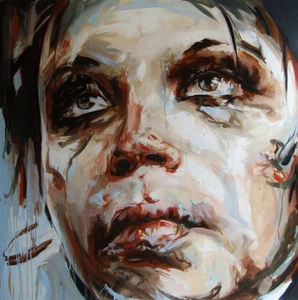 Guy Denning and Frank E Rannou Create Emotional Paintings