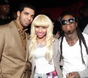 Drake, Nicki Minaj and Lil' Wayne
