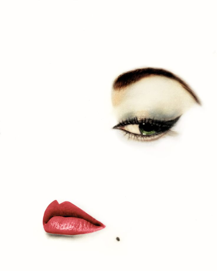 Erwin BLUMENFELD :: for Vogue, January 1950 [from  Extreme Beauty in Vogue]