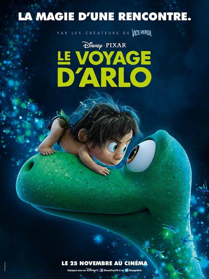 Au cinéma le 25 novembre : Le voyage d'Arlo, le nouveau Disney/Pixar.