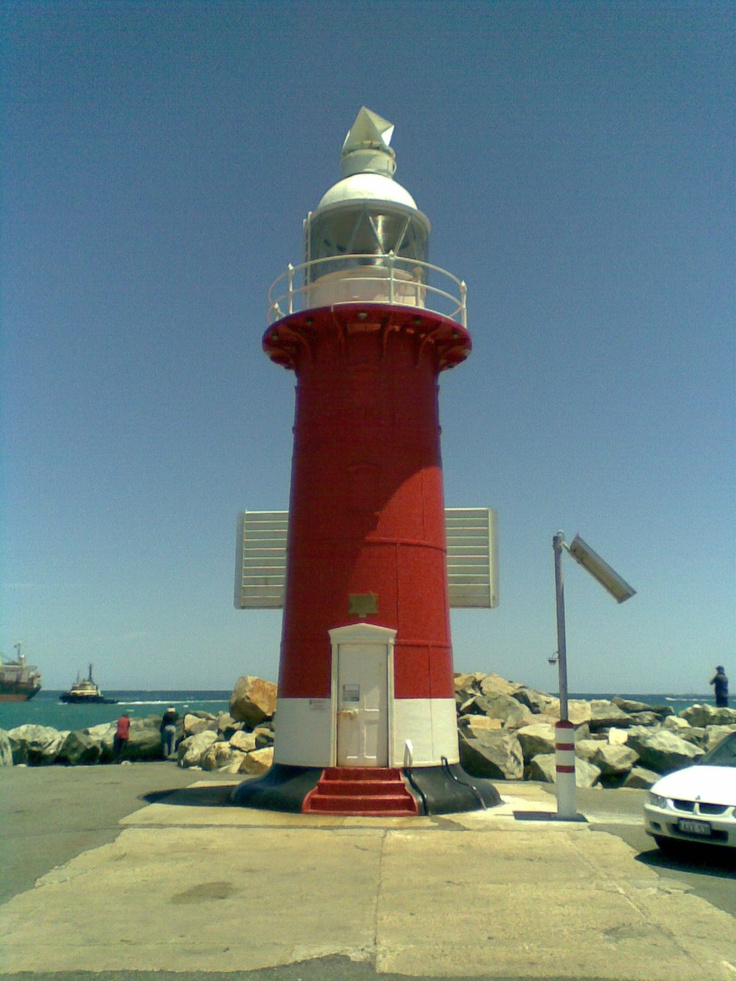 now that's a lighthouse! @ Fremantle, Western Australia