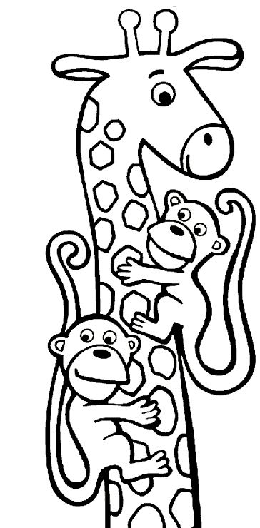 animal coloring pages kids coloring giraffe pictures dinner ideas giraffes birthday ideas for kids color sheets children