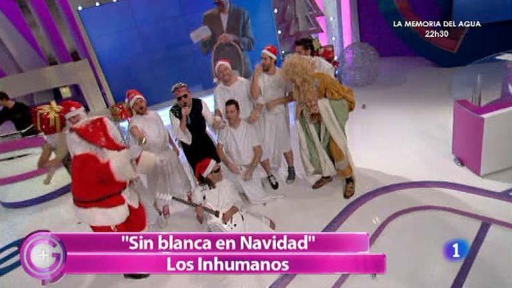 Más Gente - 'Sin Blanca en Navidad', la canción de Los Inhumanos para estas fiestas