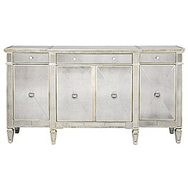 Silver buffet: Dining Rooms, Httpclothing221Blogspotcom, Borgh Buffet, Living Rooms, Mirror Furniture, Mirror Buffet, Cabinets Chest, Buffet Furniture, Borgh Mirror