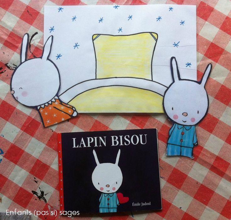 sac à album : Lapin Bisou