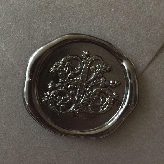 L-Initials Wax seal stamp /Heypenman crossover with BlackmarketIntl/
