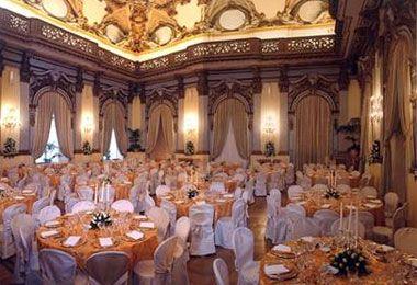 Palazzo per eventi in centro a Roma