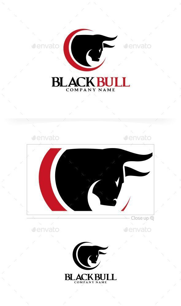 Black Bull  Logo Design Template Vector #logotype Download it here: http://graphicriver.net/item/black-bull-logo-template/9215573?s_rank=879?ref=nesto