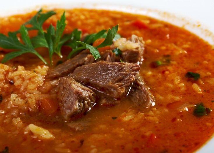 Вкуснейший суп харчо – «говяжий суп».