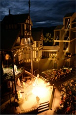 Oregon Shakespeare Festive - Elizabethan Stage (outdoors)