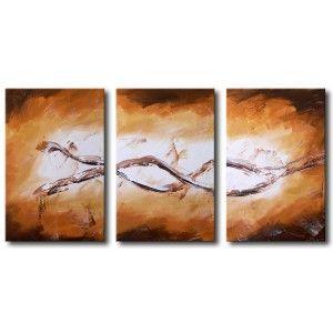 Accogliamo questa nuova stagione con una serie di #quadri dipinti a mano con i #colori tipici #autunnali 🍂🍂 ! #autunno