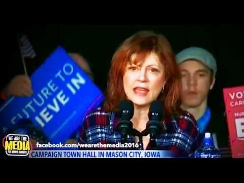 Susan Sarandon: Bernie Sanders Is Asking Us  to Be the Machine Now [CC]