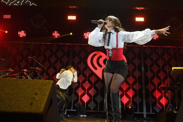 Camila Cabello performs onstage during Power 96.1's Jingle Ball 2017 Presented by Capital One at Philips Arena on December 15, 2017 in Atlanta, Georgia. - Power 96.1's Jingle Ball 2017 - SHOW
