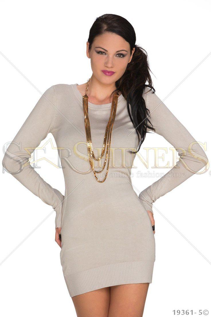 Girlish Option Cream Dress