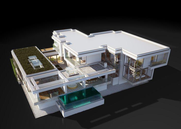 LK&1265 projekt domu w stylu nowoczesnym #architektura #projekt #dom