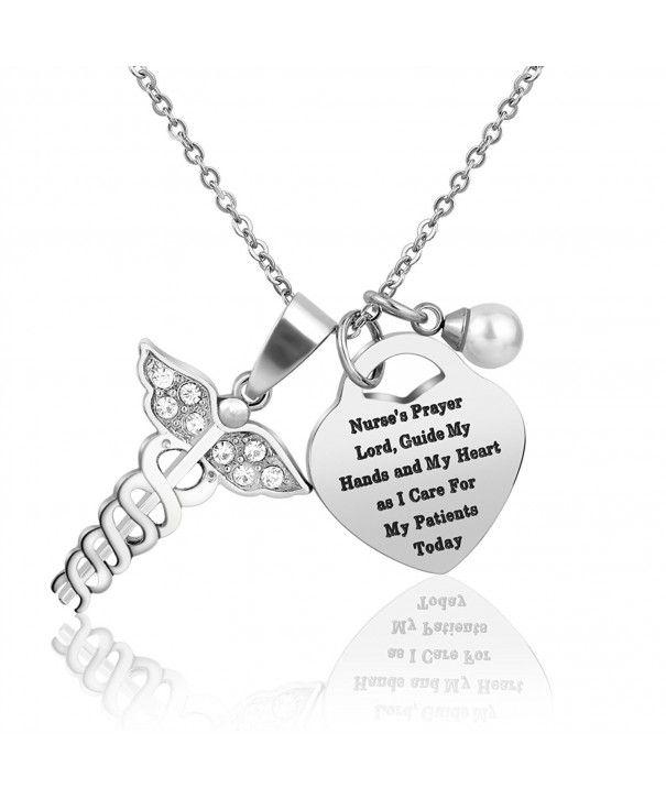 Woman Jewelry Medical Pendants Valentine Nurse She Believe She Could So She Did Birthday Nurse Necklace Nurse Graduation