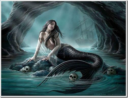My greek mythology scene -- the siren